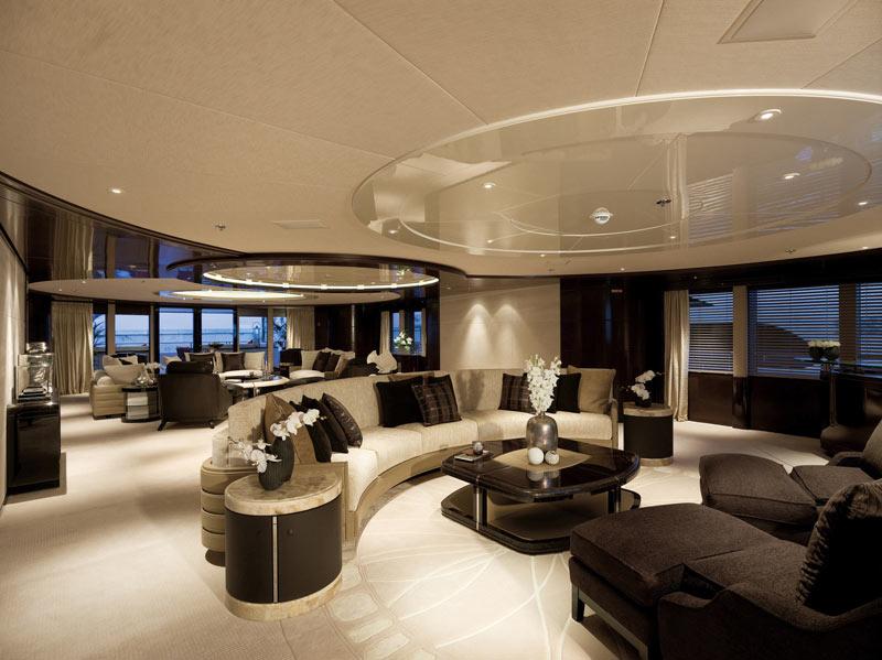 Eminence yacht by abeking rasmussen and reymond langton for Bateau de luxe interieur